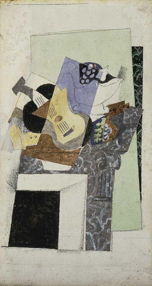 Georges Braque Şömine Üstünde Natürmort