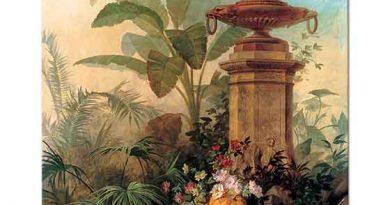 Jean Capeinick Çiçekler ve Tropikal Bitkiler