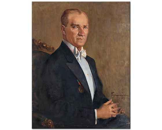 Feyhaman Duran Atatürk Portresi