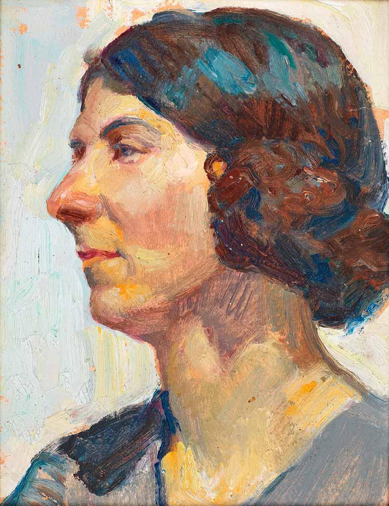 Feyhaman Duran Kadın Portresi