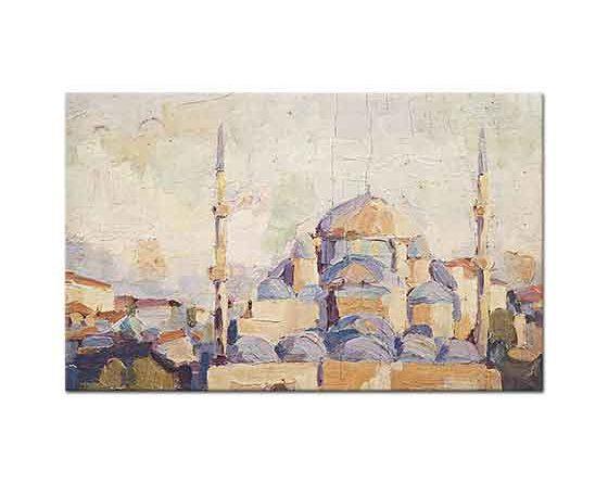 İlhami Demirci Cami Peyzajı İstanbul