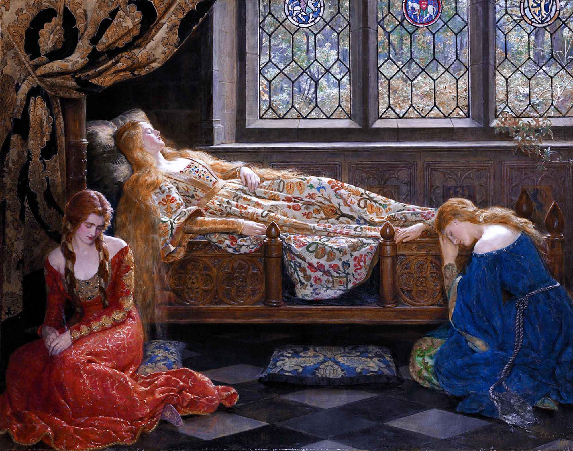 John Collier Uyuyan Güzel