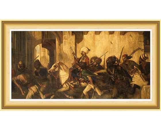 Alexandre Gabriel Decamps hayatı ve eserleri