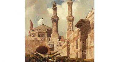 Adrien Dauzats Kahire Pazarı