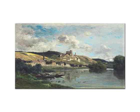 Charles Francois Daubigny Gaillard Şatosu