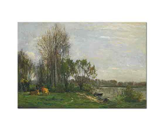 Charles Francois Daubigny Oise Kıyısında
