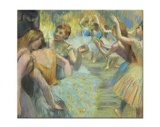 Edgar Degas Antreman Yapan Balerinler