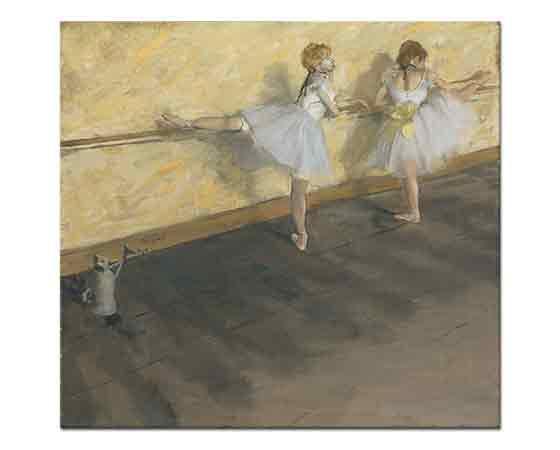 Edgar Degas Barda Çalışan Balerinler