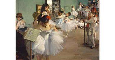 Edgar Degas Dans Sınıfı