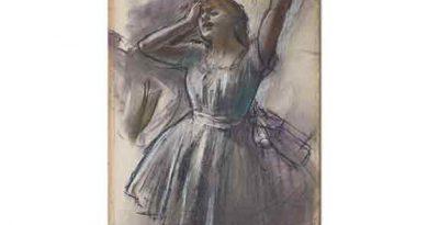 Edgar Degas Dansçı Eskizi