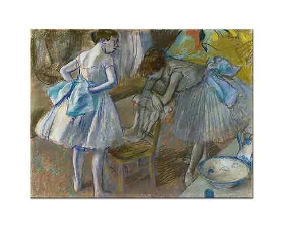 Edgar Degas İki Balerin Giyinme Odasında