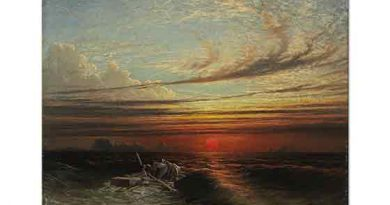 Francis Danby Fırtına Sonrası Gün Batımı
