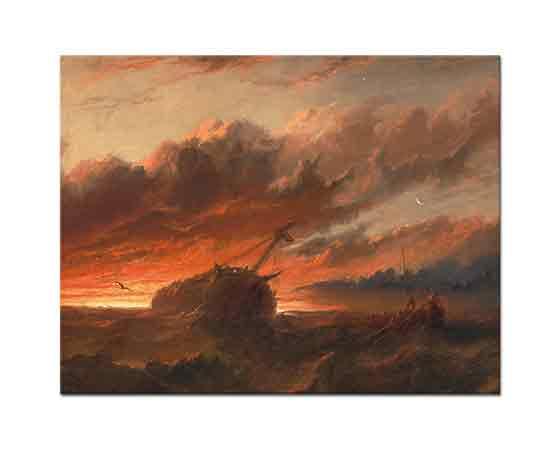 Francis Danby Gemi Kazası