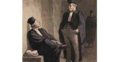 Honore Daumier Avukatların Sohbeti