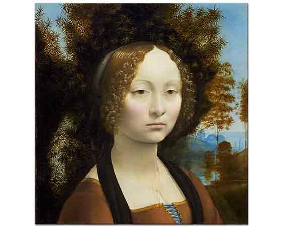 Leonardo Da Vinci Lichtenstein'lı Leydi
