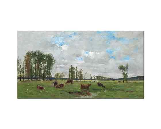 Pierre Emmanuel Damoye Otlayan Sığırlar