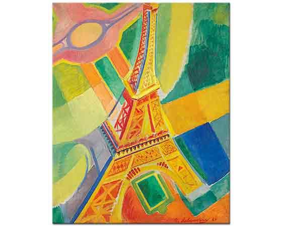 Robert Delaunay Eyfel Kulesi