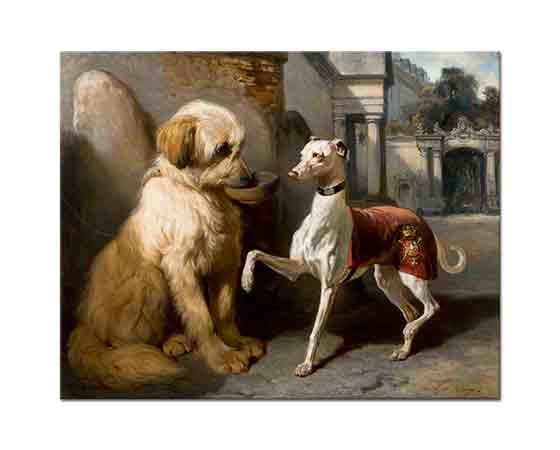 Alfred de Dreux Zengin ve Yoksul