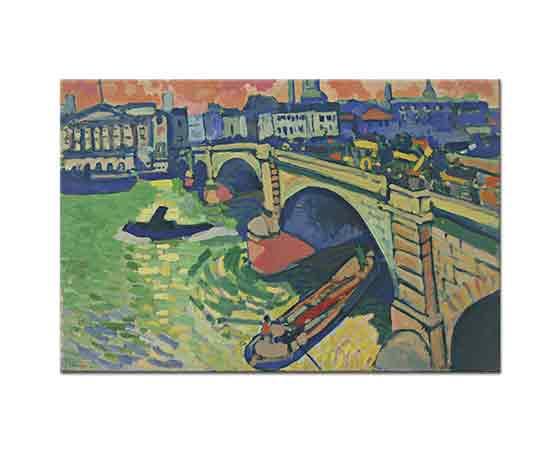 Andre Derain Londra Köprüsü