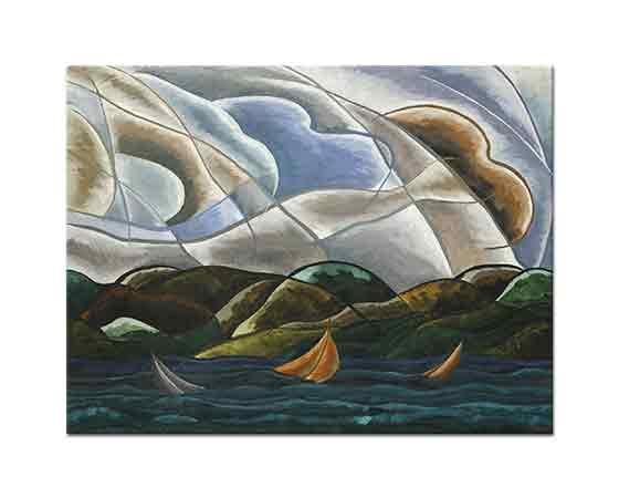 Arthur Dove Bulutlar ve Deniz