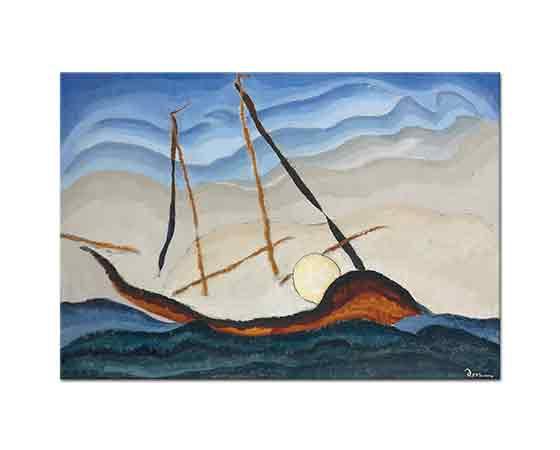 Arthur Dove Tekne Girişi Geçerken