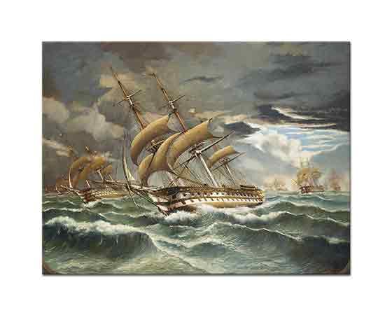 Cheri Francois Dubreuil Fransız Savaş Gemileri