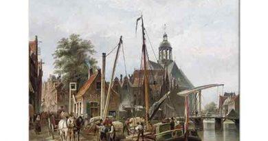 Cornelis Christiaan Dommersen Rotterdam Limanı