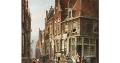 Cornelis Christiaan Dommersen Yahudi Mahallesi Amsterdam