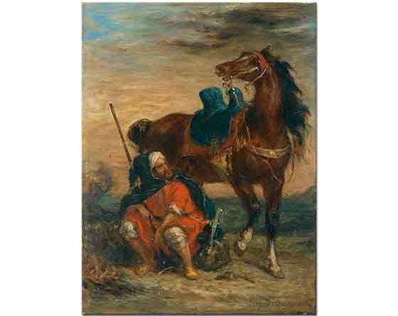 Eugene Delacroix Arap Süvari