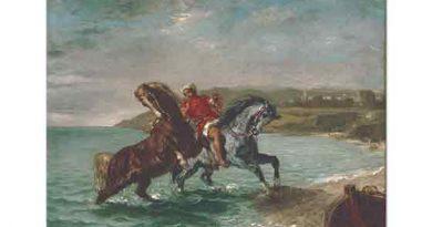 Eugene Delacroix Sudan Çıkan Atlar