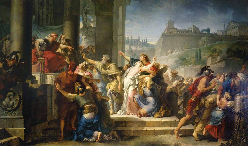 Gabriel François Doyen Bakirenin Ölümü