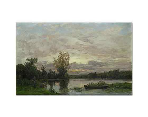 Hippolyte Camille Delpy Loire Kıyısında Akşam