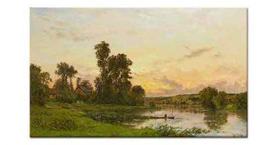 Hippolyte Camille Delpy Seine Nehri Kıyısında