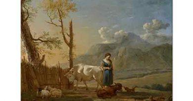 Karel Dujardin, Çoban ve Manzara