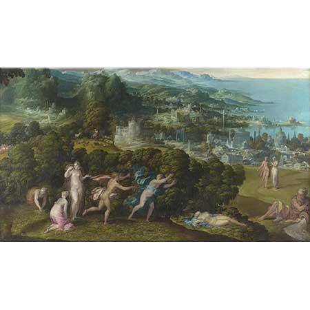 Niccolo dell Abbate Eurydice'nin Ölümü