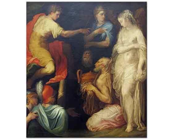 Niccolo dell Abbate Scipio'nun İtidali