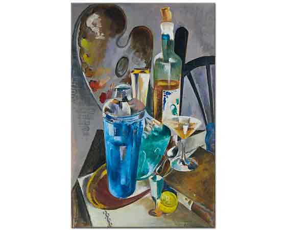 Preston Dickinson Sanatçının Masası
