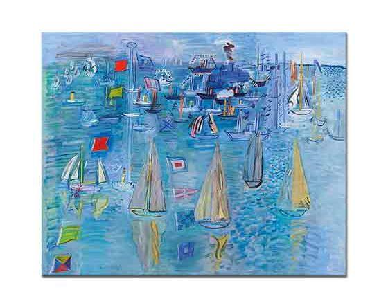 Raoul Dufy Yelkenliler