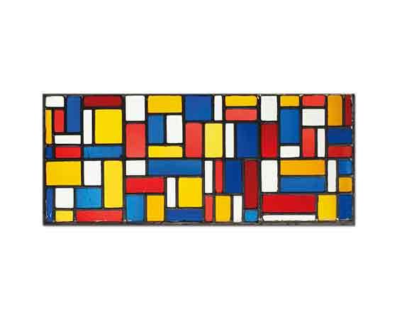 Theo van Doesburg Vitray Kompozisyon VIII