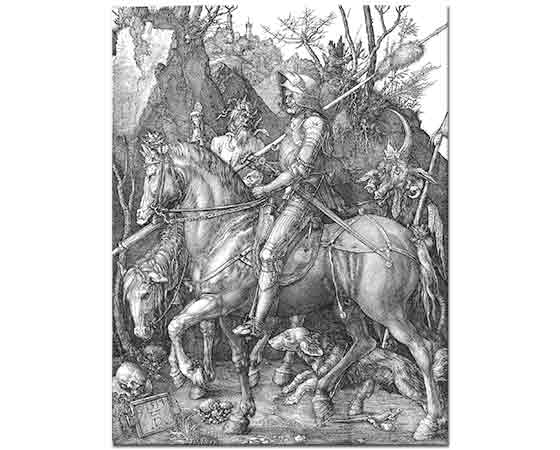 Albrecht Dürer, Şövalye Ölüm ve Şeytan