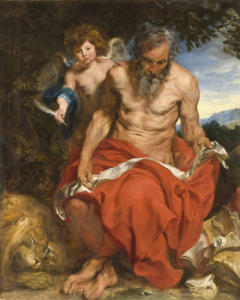 Sir Anthony Van Dyck, Aziz Jerome
