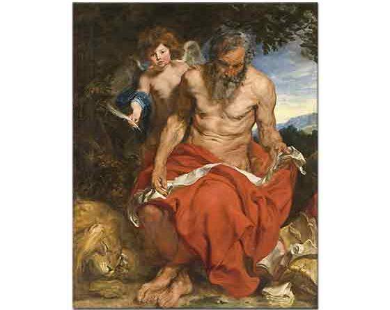 Sir Anthony Van Dyck, Aziz Jerome