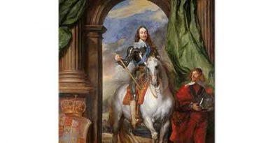 Sir Anthony Van Dyck, Charles I Markiz St Antoine ile