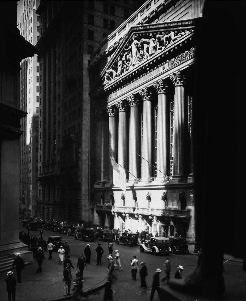 Berenice Abbott New York Borsası