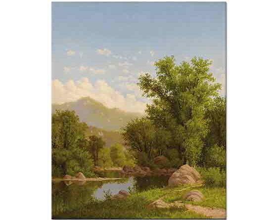 Charles Harry Eaton, Nehir Kıyısında Bahar Manzarası