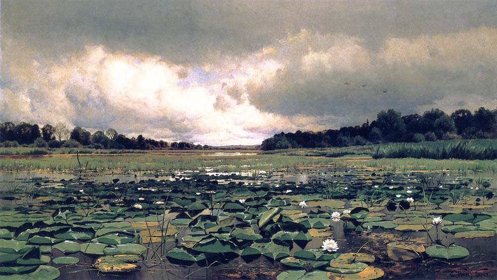 Charles Harry Eaton, Nilüfer Göleti