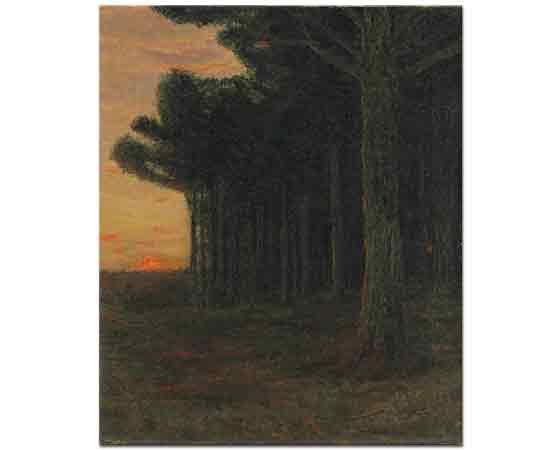Charles Warren Eaton, Çam Ağaçları Connecticut