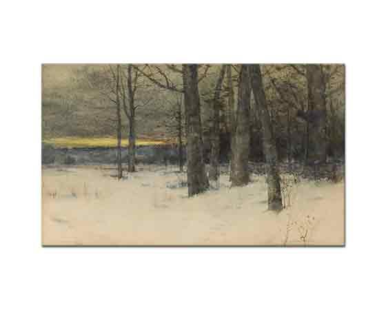 Charles Warren Eaton, Kış Manzarası