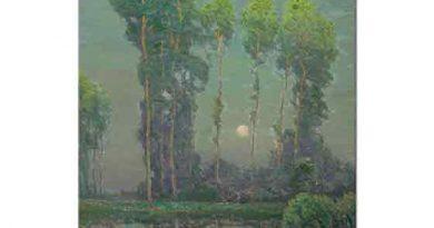 Charles Warren Eaton, Montigny'de Mehtap