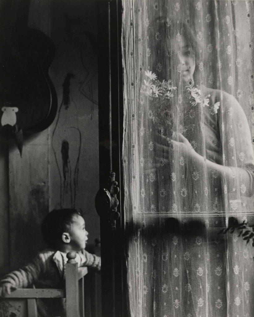 Edouard Boubat Anne ve Çocuğu